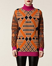 Jumpers & cardigans , Maxi Rollneck Sweater , Matthew Williamson - NELLY.COM