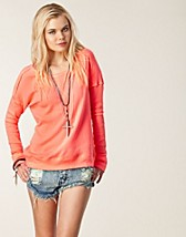 Tröjor , Solid Washed Pullover , Free People - NELLY.COM