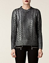 Jumpers & cardigans , Foil Printed Sweater , Michael Michael Kors - NELLY.COM