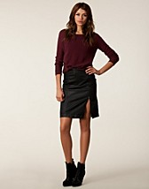 Skirts , Coaty Skirt , Soaked in Luxury - NELLY.COM