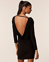 Party dresses , Milly Draped Back Dress , Honor Gold - NELLY.COM