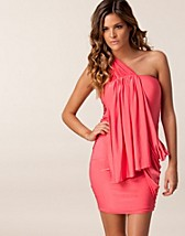 Festklnningar , Helena One Drape Dress , Honor Gold - NELLY.COM