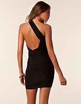 Festklnningar , Amy Open Back Dress , Honor Gold - NELLY.COM