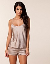 Nightwear , CK Black Camisole Set , Calvin Klein - NELLY.COM