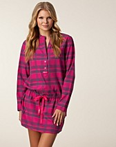 Nattplagg , Flannel Nightdress , Calvin Klein - NELLY.COM
