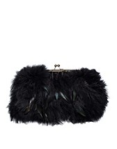 Bags , Piomazzo Feather Clutch , Friis & Company - NELLY.COM