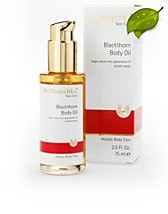 Body Oil Blackthorn