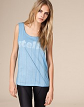 Striped Logo Tank SEK 549, adidas by Stella McCartney - NELLY.COM