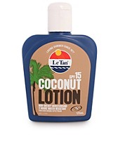 Aurinkotuotteet , Coconut Body Lotion SPF 15 , Le Tan - NELLY.COM