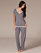 Short Sleeve Pajamas Set SEK 249, O Lingerie - NELLY.COM