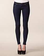 Jeans , Berlin Jeggings , Sort Denim - NELLY.COM