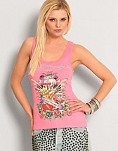 King Tiger Collage Tank SEK 595, Ed Hardy - NELLY.COM