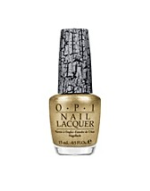 Nail design , Gold Shatter , OPI - NELLY.COM