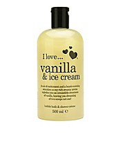 Vartalonhoito , Vanilla & Ice Cream Bath & Shower Créme , I Love... - NELLY.COM