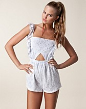 Jumpsuit , Lace Playsuit , Reverse - NELLY.COM