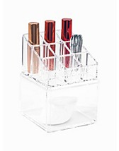 Redskap & tilbehør , 9 PCS Lipstick + Square Holder , Cosmetic Organizer - NELLY.COM