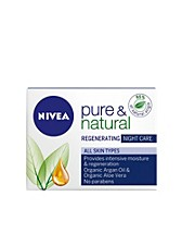 Facial care , Pure & Natural Night Care , Nivea - NELLY.COM