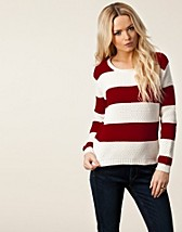 Trjor , Hanna Big Stripe Knit , Sally&Circle - NELLY.COM