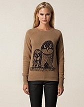 Jumpers & cardigans , Owls Sweater , Norrback - NELLY.COM