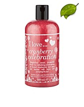 Kroppsvård , Cranberry Celebration Bubble Bath & Shower Gel , I Love... - NELLY.COM