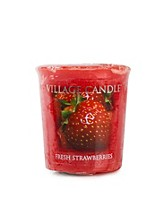 Beauty @ home , Fresh Strawberry Votive , Village Candle - NELLY.COM