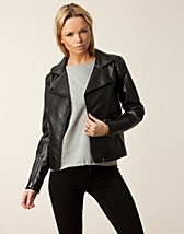 Jackor , Capuchine Biker Jacket , Issue 1.3 - NELLY.COM