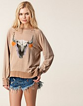 Jumpers & cardigans , Cherie Skull Sweater , Wildfox - NELLY.COM