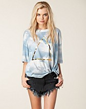 Toppar , Triangle Cobain Tee , Wildfox - NELLY.COM