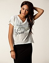 Toppar , My Heart In Verona Tee , Wildfox - NELLY.COM