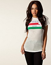Toppar , Roma Skinny Tee , Wildfox - NELLY.COM