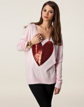 Tröjor , Sequin Heart , Wildfox - NELLY.COM