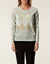 Jumpers & cardigans , Cable Diamond Pull , Ballantyne - NELLY.COM