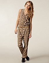 Jumpsuit , Wonderta Python Jumpsuit , SuperTrash - NELLY.COM