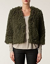 Jackets and coats , Faux Fur Jacket , Anna Sui - NELLY.COM