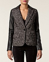 Jackets and coats , Leather Blazer , Michael Michael Kors - NELLY.COM