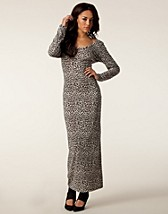 Klnningar , Wrapped Maxi Dress , Mad Love - NELLY.COM
