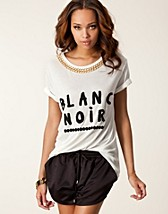 Paidat , Black Noir Necklace Tee , River Island - NELLY.COM