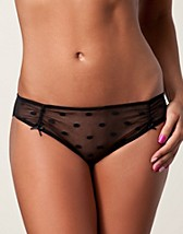 Truser , Mod Petit Tulle Dot Brief , DIM - NELLY.COM