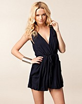 Jumpsuit , Chiffon Tie Playsuit , Ax Paris - NELLY.COM