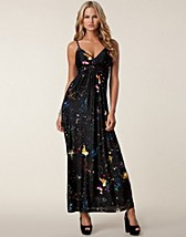 Party dresses , Galaxy Strap Maxi Dress , Ax Paris - NELLY.COM