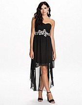Festklänningar , Embellished Waist Drop Dress , Ax Paris - NELLY.COM