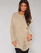 Florence Knitted Sweater SEK 499, Jeane Blush - NELLY.COM