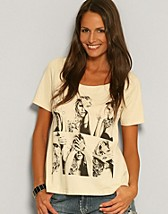 Savanna T-shirt SEK 159, Jeane Blush - NELLY.COM