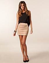 Skirts , Mini Tube Skirt , Jeane Blush - NELLY.COM