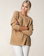 Jumpers & cardigans , Cabel Knitted Sweater , Jeane Blush - NELLY.COM