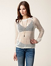 Tröjor , Jana Sweater , Jeane Blush - NELLY.COM