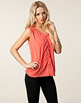 Tops , Joy Sleeveless Top , Jeane Blush - NELLY.COM