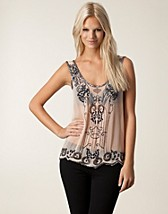 Tops , Georgette Beaded Top , Lipsy - NELLY.COM