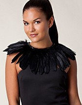 Muut asusteet , Anki Feather Collar , Mi Lajki - NELLY.COM