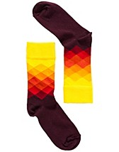 Strumpor , Faded Diamonds Socks , Happy Socks - NELLY.COM